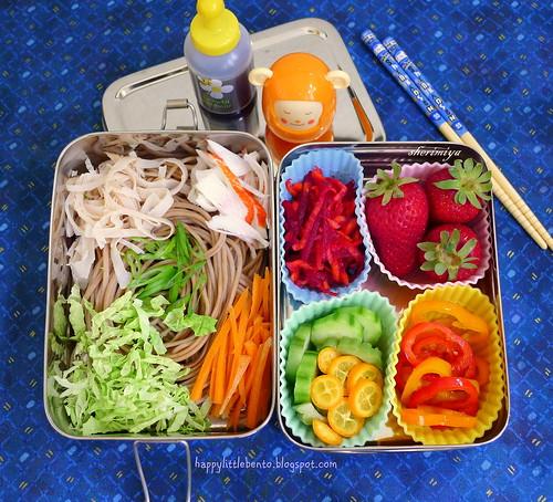 Soba EcoLunchBox Bento by sherimiya ♥