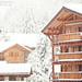 Snow Covered Chalets by Sasha L'Estrange-Bell
