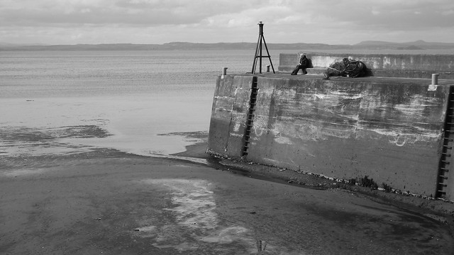 Musselburgh Harbour, low tide 07