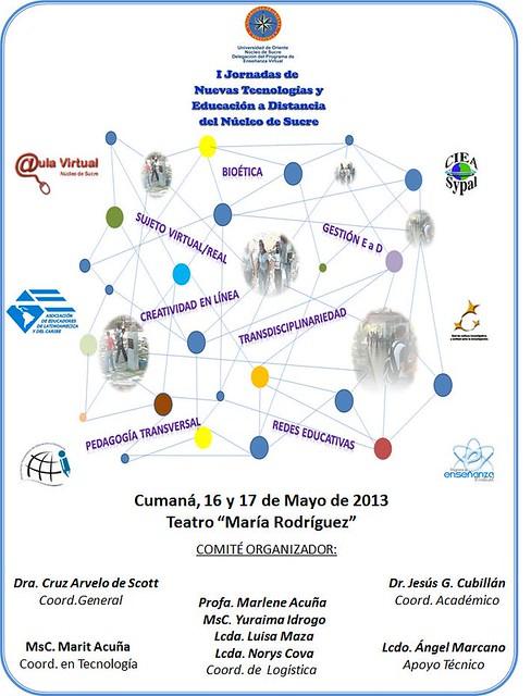 I Jornadas de Nuevas Tecnologías y Educación a Distancia del Núcleo de Sucre