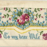 Embroided Post Cards circ 1914-1925