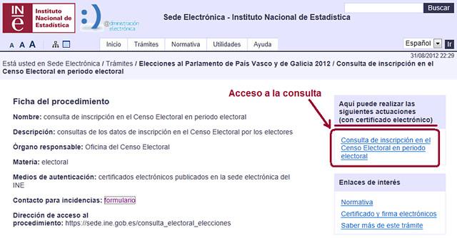 Imagen Acceso a Consulta censo en periodo electoral