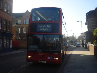 Go-Ahead PDN4 on Route 67, Stoke Newington