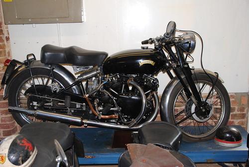 Vincent 1955 Black Shadow 1000cc