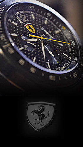 Ferrari Scuderia Chronology Watch