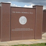 National Memorial Arboretum - The Basra Memorial Wall