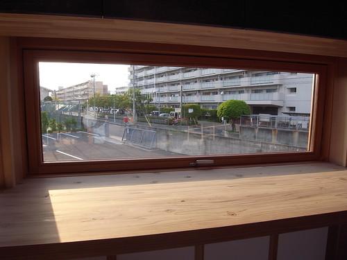 木製サッシの例