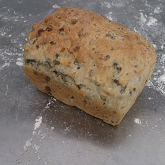 Lentil mini loaf #Bread #Chefs