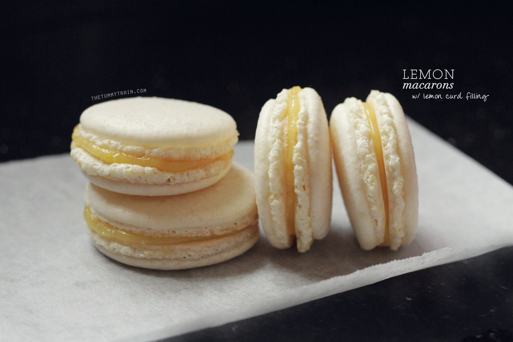 8693460139 60eb4b7d62 b - A semblance of Lemon Macarons + I need a new oven