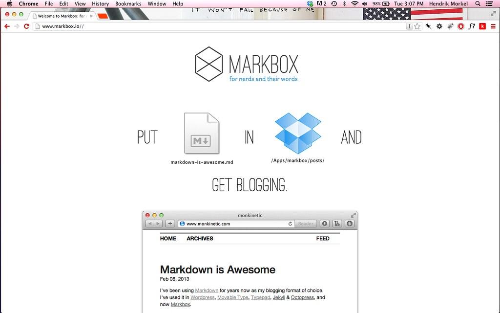 Markbox