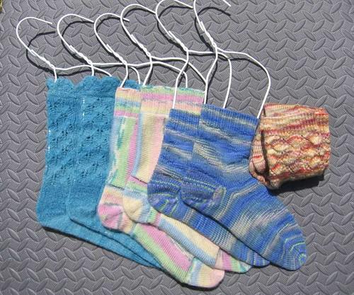 Socks in the laundry