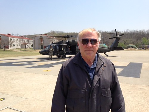 Chabot in front of Black Hawk