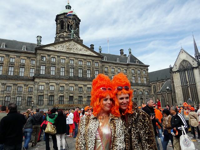 Inauguration king Willem-Alexander. Inhuldiging koning Willem-Alexander.