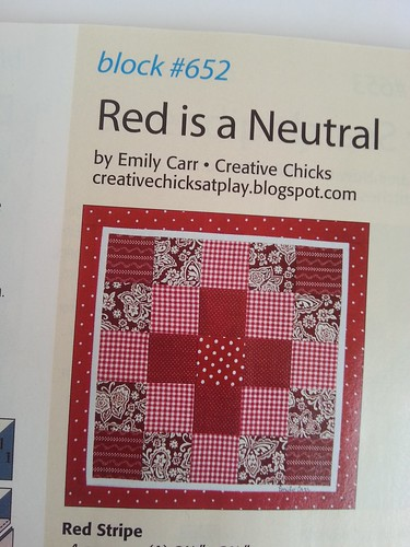 Red in a Neutral Block
