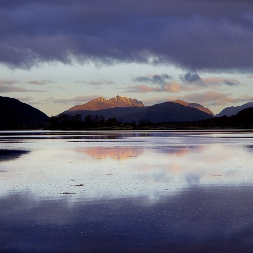 Garbh Bheinn and Ardgour from Glencoe by Christopher Swan