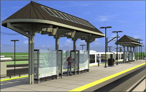 Ward Road Station Rendering
