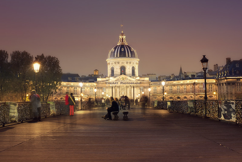 Pont des Arts Paris @night