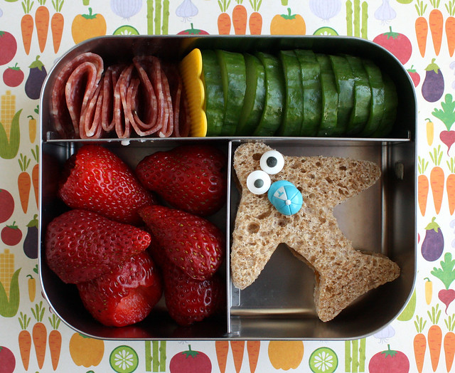 Preschool Goofy Airplane Bento #437