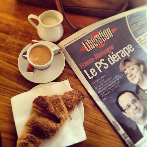 Goodmorning cafe e croissant by la casa a pois