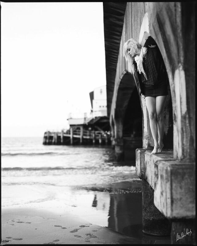 Model Photography on Film