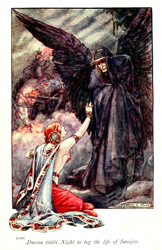 "Frank Cheyne Pape - The gateway to Spenser. Tales retold by Emily Underdown from ""The faerie queene"" of Edmund Spenser (1913) 5"