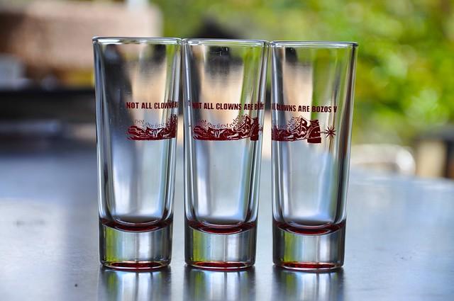 NACABV shot glasses