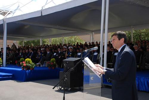 Ministro Maurizio Lupi a Civitavecchia per il passaggio di consegne del Comandante Generale delle Capitanerie di Porto – Guardia Costiera (4)