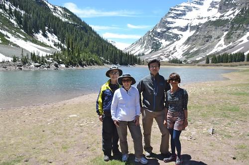 Maroon Lake Hike to Crater Lake