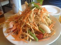 日, 2013-06-02 17:50 - Crispy Papaya Salad