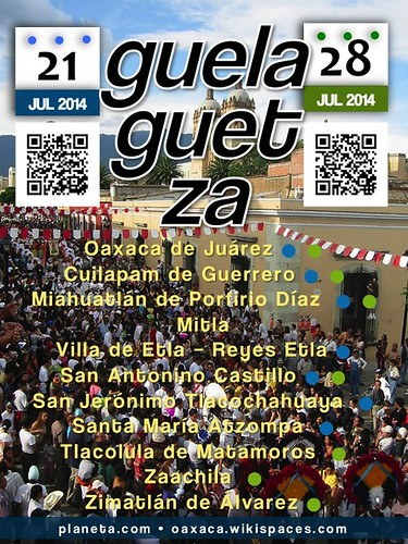 Dates for Guelaguetza 2014: July 21 and 28 #rtyear14