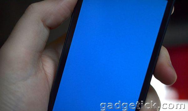 Синий экран смерти iPhone 5S