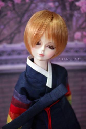 Daniel in Hanbok! ♥
