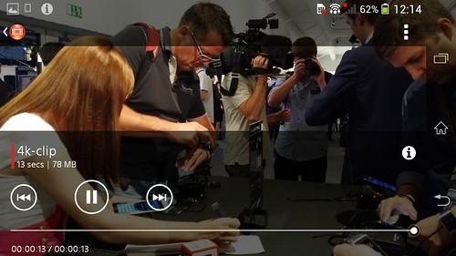 ดูคลิป 4K บน Sony Xperia Z1 ลื่นไหล สบายๆ