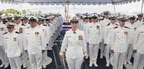 USS Chosin CO Calls Change of Command 'Bittersweet'
