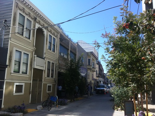 Hip Side Street in Hayes Valley