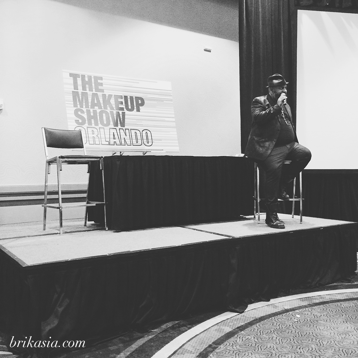 The Makeup Show Orlando 2014 Recap, James Vincent, Blogger Preview Event