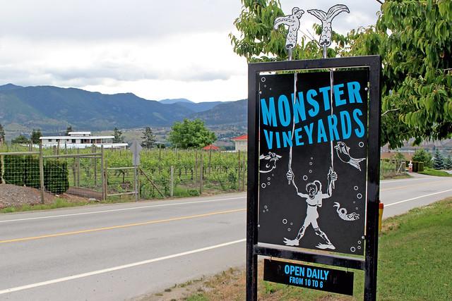 Okanagan Valley Winery Monster