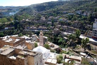 YEMEN  JIBLAH Mosquée Sheikh Yacoub
