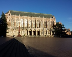 Suzzalo Library and Red Square