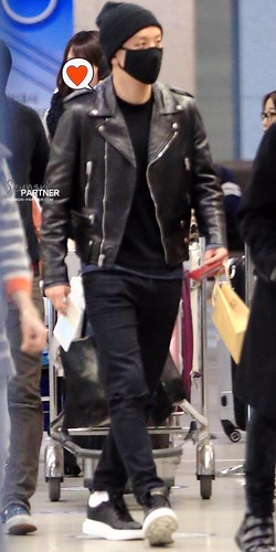 Big Bang - Incheon Airport - 10apr2015 - Seung Ri - Partnervi - 03