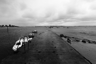 #Lorient in #Brittany on the port of #LarmorPlage a rainy afternoon