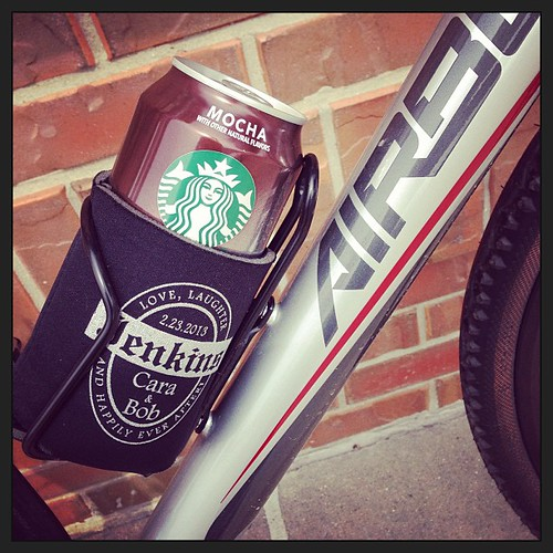 Treat on a long ride. #starbucks @Airborne_Bikes