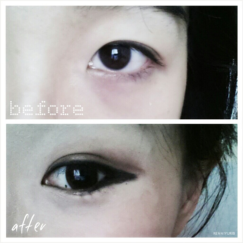 얼짱 Ulzzang eye makeup attempt