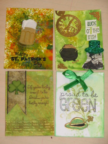 Ink Stains March Charm n ATC Swap 009