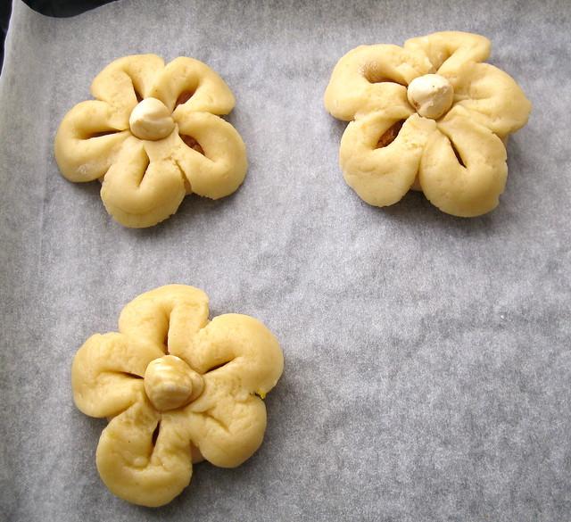 çiçek kurabiye-değişik kurabiye