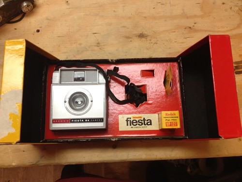 Kodak Brownie Fiesta complete with a roll of film