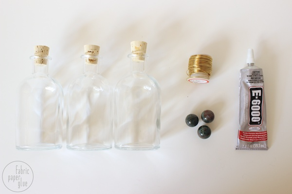 Marble-Topped Spirit Bottles 1