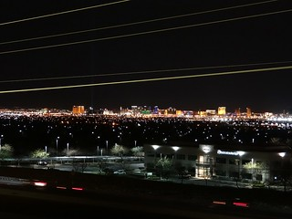 Vegas from afar.