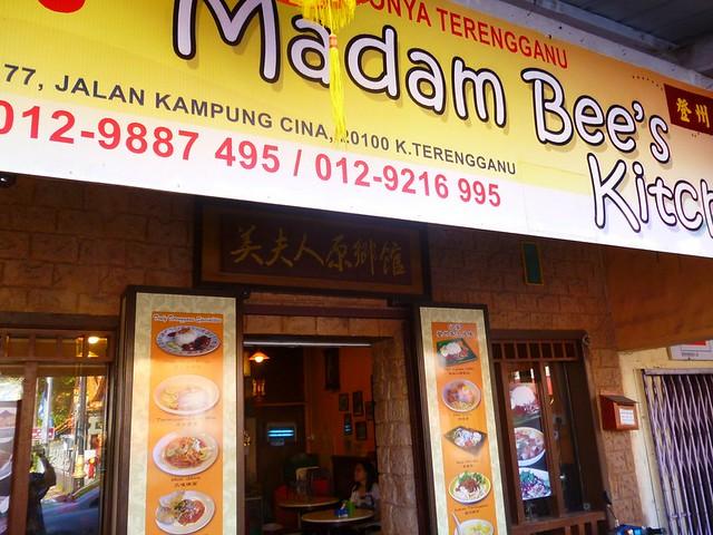 Madam Bee's Kitchen at Kuala Terengganu's Chinatown