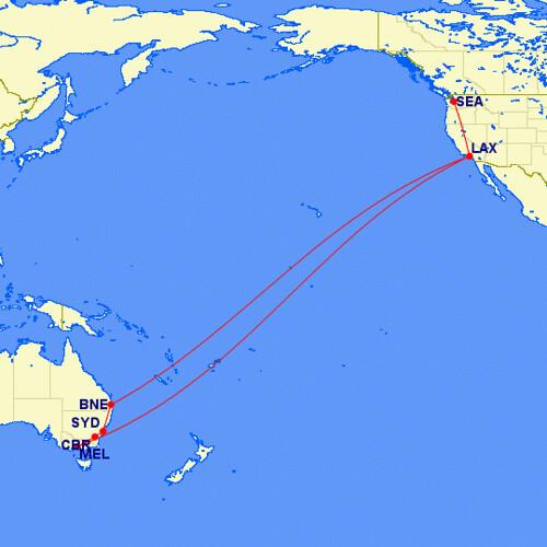 Australian Journey Map
